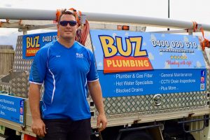 Image of owner of Buz Plumbing Services