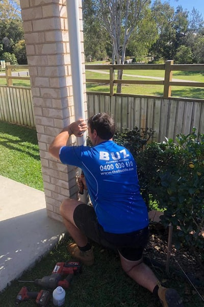 Pipe clean up by a Buz Plumber in Redcliffe
