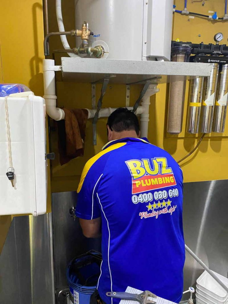 commercial plumber north brisbane